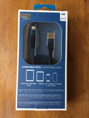 apple lightning charger NEW for Sale in Edmonds, WA