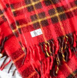 Vintage Faribo Wool Plaid Stadium Blanket for Sale in West Jordan,  UT