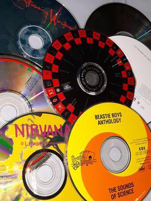 Music Lot (7) CD's Nirvana BEASTIE BOYS Led Zeppelin U2 for Sale in Tacoma, WA