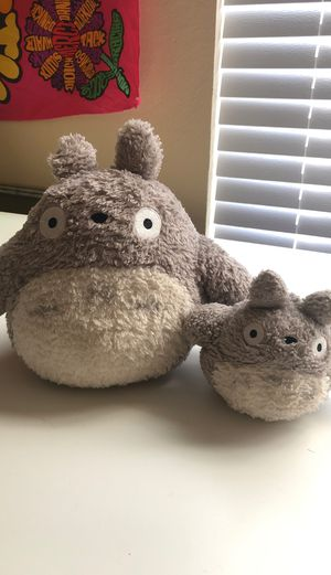 Totoro teddy bear collection anime for Sale in Lakeland, FL