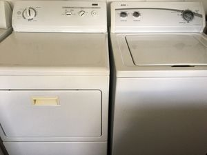 Kenmore Washer And Electric Dryer heavy Dury Super Capacity for Sale in Mount Dora, FL