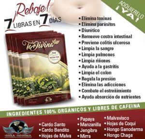 Original Te Divina Detox Tea by Vida Divina for Sale in La Puente, CA
