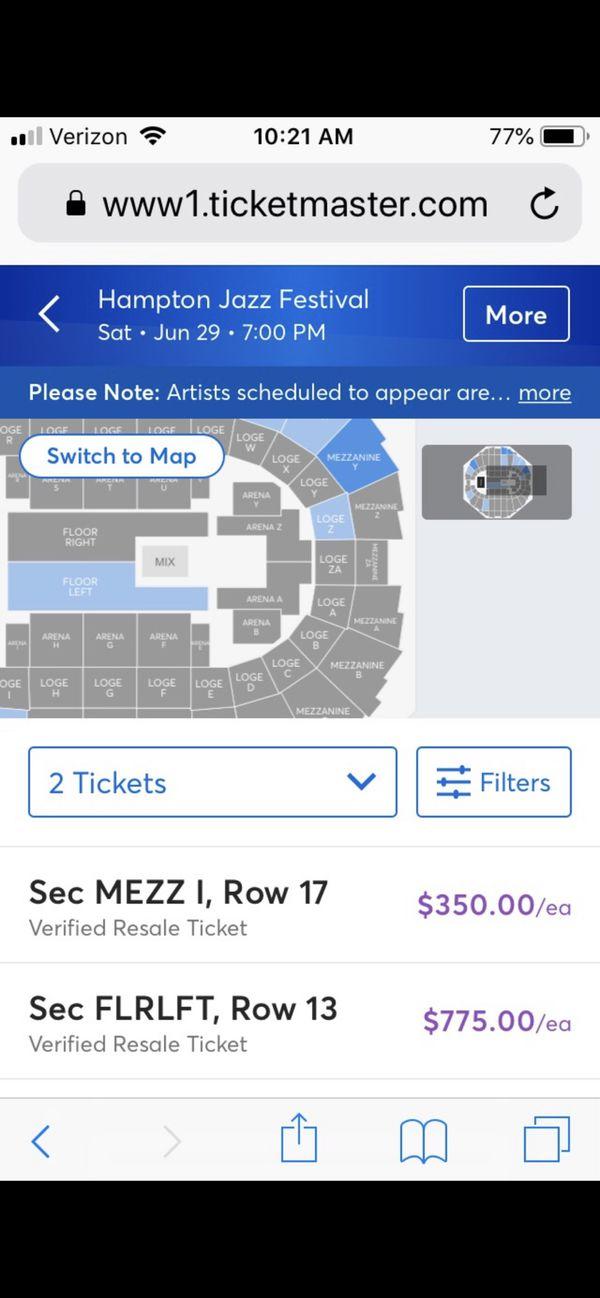 Hampton Jazz Festival tickets