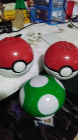 POKEMON BALLS N MUSHROOMS for Sale in Anaheim, CA