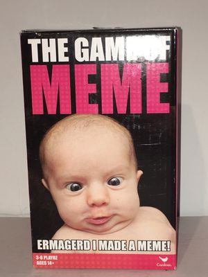 The Game Of Meme Card Game NEW for Sale in Raleigh, NC
