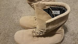 VIBRAM MILITARY BOOTS SIZE 12 W for Sale in West Jordan, UT