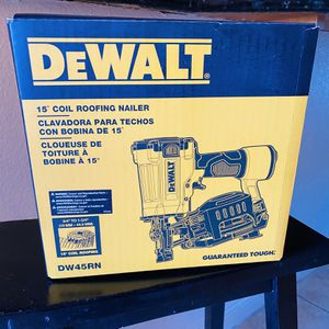 Pneumatic 15° Coil Roofing Nailer for Sale in Azusa, CA
