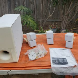 Bose Surround Sound Dual Vubes and subwoofer for Sale in Oceanside, CA