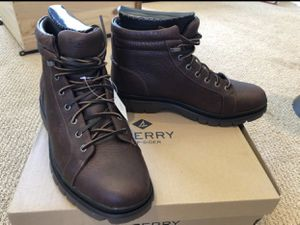 Sperry dark brown leather boot for Sale in Phoenix, AZ