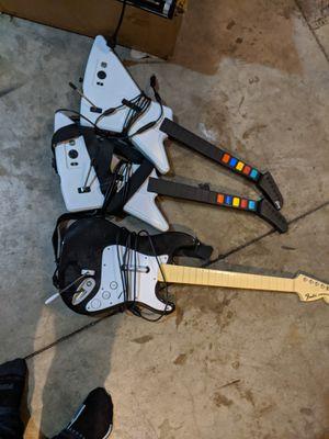 Guitar Hero / RockBand guitars Xbox 360 PS3 Xbox One PS4 for Sale in Ellensburg, WA