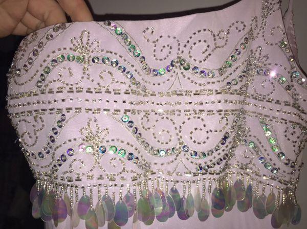Lilac formal prom dress size 4