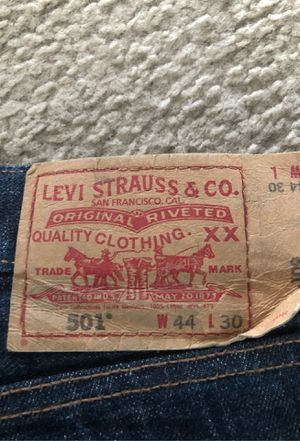 Levi Strauss dark blue wash jeans for Sale in Aurora, CO
