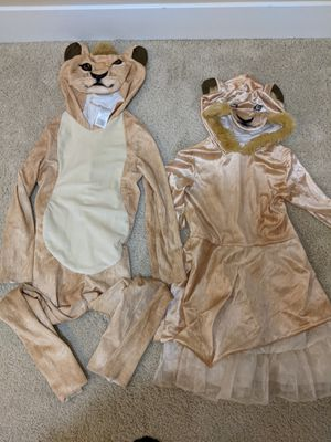 Disney simba and nala costume for Sale in Portland, OR