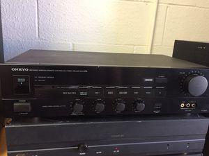 Onkyo pre-amplifier for Sale in Houston, TX