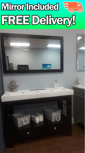 "48"" bathroom vanity 🚛FREE DELIVERY! for Sale in Coral Springs, FL"