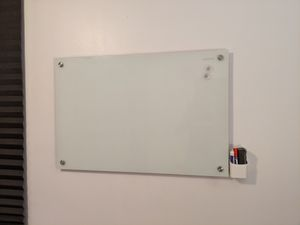 Quartet Magnetic 3'x2' Dry Erase Board w/ Pens, Eraser, Spray and Holder for Sale in New York, NY