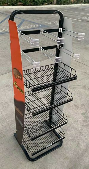 NEW 17x16x52 Inch Tall Commercial Retail Conveninece Store Product Candy Snack Rack Merchandise Shelf swapmeet restaurant store for Sale in Whittier, CA