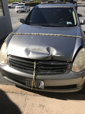 2005 INFINITY G35x AWD PARTING OUT NO TITLE for Sale in Arlington, VA