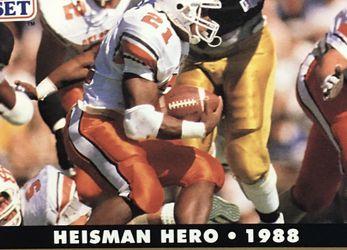Heisman Hero Barry Sanders 1988 Card for Sale in Renton,  WA