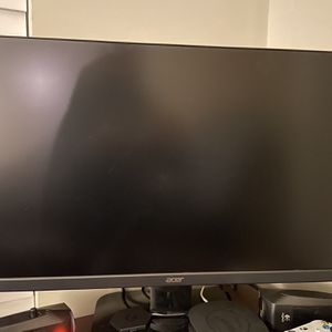 2/Dual 27 inch Acer Monitors 75hz for Sale in Marietta, GA