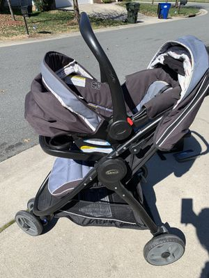 Graco snug ride baby stroller and car seat for Sale in Raleigh, NC