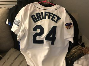 c34a723483ce6 Ken Griffey Jr. Baseball Jersey Mitchell   Ness Authentic sz 48 XL for Sale  in