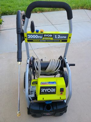 RYOBI 2,000 PSI 1.2 GPM Electric Pressure Washer for Sale in Murrieta, CA