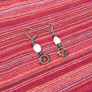 Genuine Handcrafted Moonstone Beaded Earrings for Sale in Thornton, CO