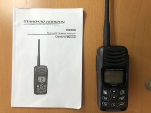 Standard Horizon HX300 Floating VHF Marine Transceiver for Sale in Santa Monica, CA