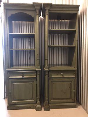 Armoire Cabinet & Bookshelf's Set for Sale in Atlanta, GA