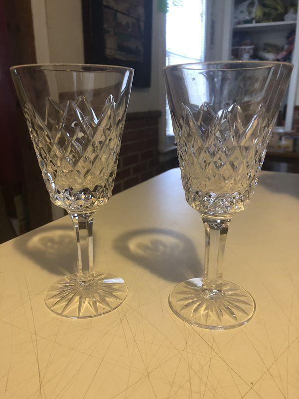 """Vintage Wine glasses 5 7/8"""""""