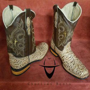 Bota vaquera rodeo, new rodeo boots for Sale in Burlington, NC