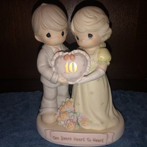 Precious Moments 10 Years Heart To Heart. for Sale in Clarksville, TN