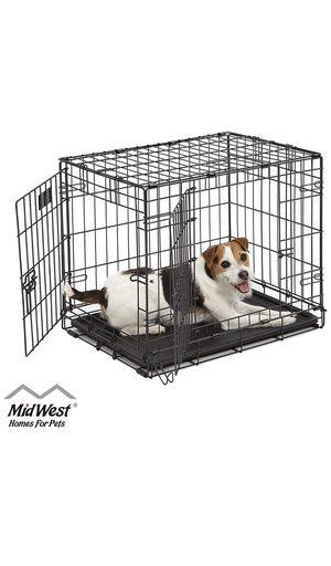 Dog Crate - Single Door & Double Door Folding Metal Dog Crate for Sale in San Francisco, CA
