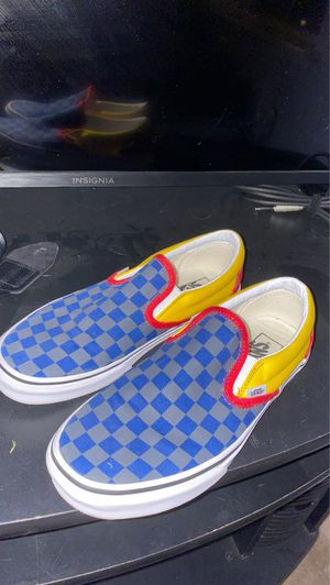 Tri Colored Slip On Vans for Sale in Antioch, CA