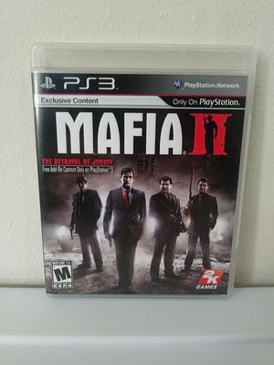 Mafia II Sony PlayStation 3 PS3 CIB with Map TESTED for Sale in Hacienda Heights, CA
