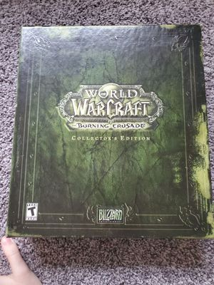 World of Warcraft: The Burning Crusade (Collector's Edition) for Sale in Wyoming, MI