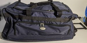 Rolling Duffel Bag With Handle for Sale in Tampa, FL