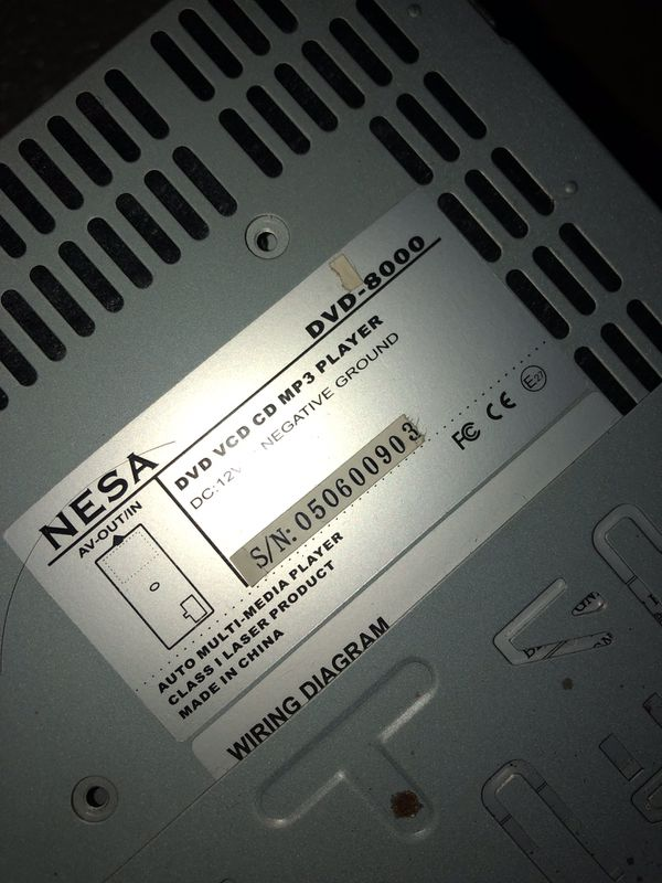 Nesa Stereo DVD 8000. Best Offer takes it. for Sale in Fresno, CA - on
