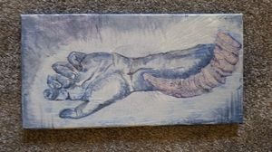 Handmade art -Ink & acrylic on canvas for Sale in Palmer, MA