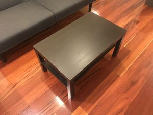 Black wood coffee table for Sale in Arlington, VA