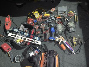 Power tools and construction accessories etc. for Sale in Temecula, CA