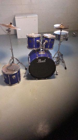 Pearl drum set for Sale in Detroit, MI