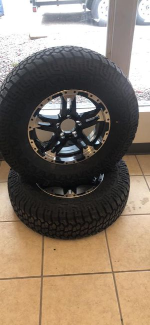"""15"""" 5 lug trailer tire!!! New aggressive tread - make for highway and off road - 6 year warranty for Sale in Plant City, FL"""