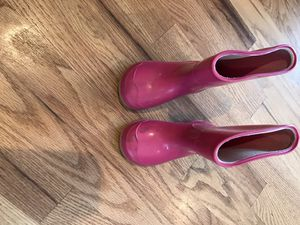 Pink girl rain boots for Sale in Denver, CO