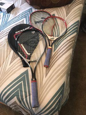 Puma and Dunlop tennis rackets for Sale in Atlanta, GA