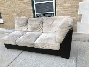 2 Piece Sectional Couch for Sale in Naperville, IL