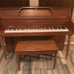Console Piano by Young Chang for Sale in Fort Worth, TX
