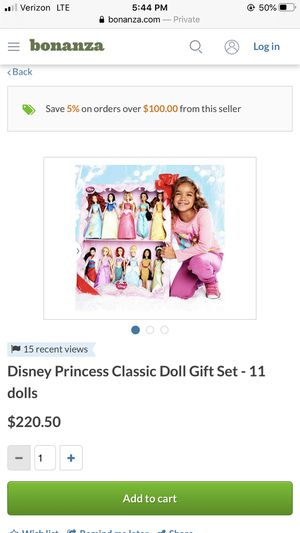 "DISNEY STORE PRINCESS CLASSIC 12"" DOLL COLLECTION for Sale in Los Angeles, CA"