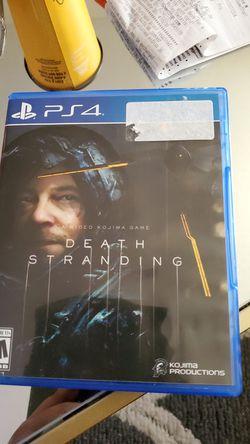Death Stranding (PS4) for Sale in Harrisonburg,  VA